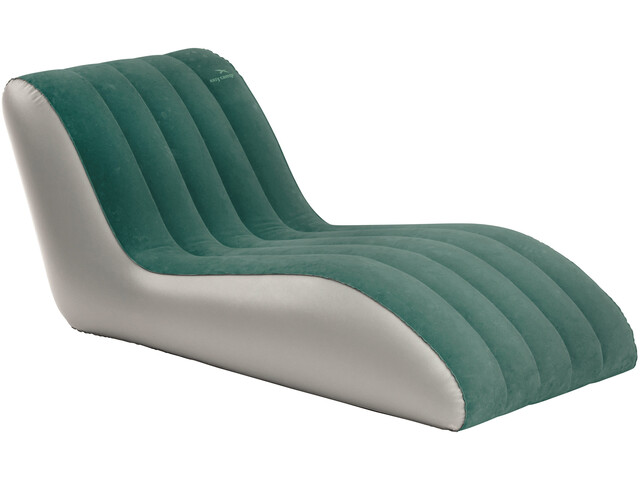 Easy Camp Comfy - Chaise longue - gris/vert